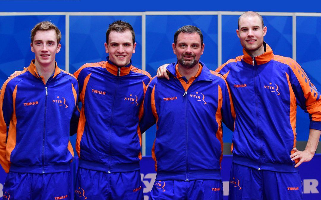 Nederlandse heren overtuigend naar 2e ronde van EK 2019