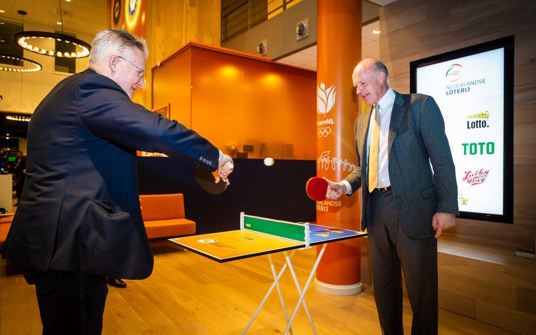 Nederlandse Loterij belangrijk voor Tafeltennis