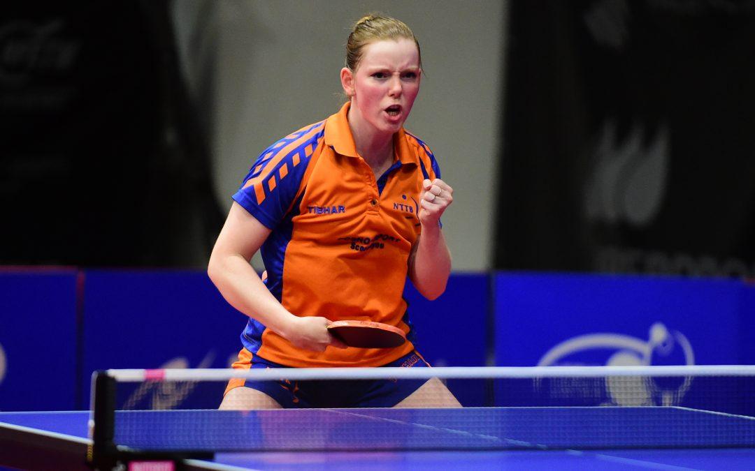 Britt Eerland stijgt op wereldranglijst, Jie zakt