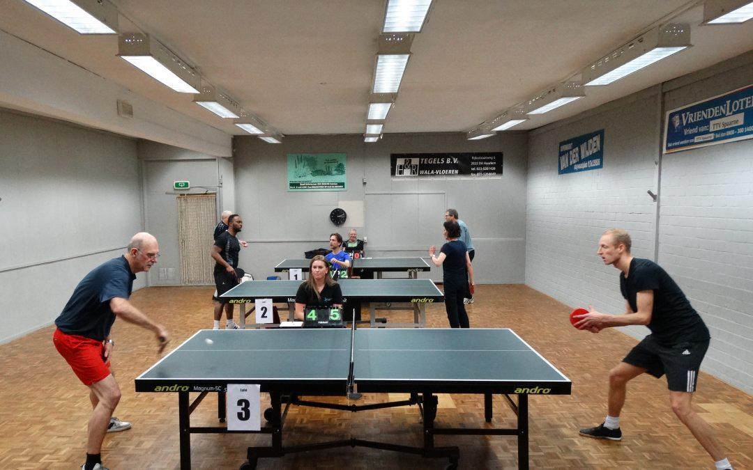 Student Jens Wiersma is beste Pingponger van Haarlem
