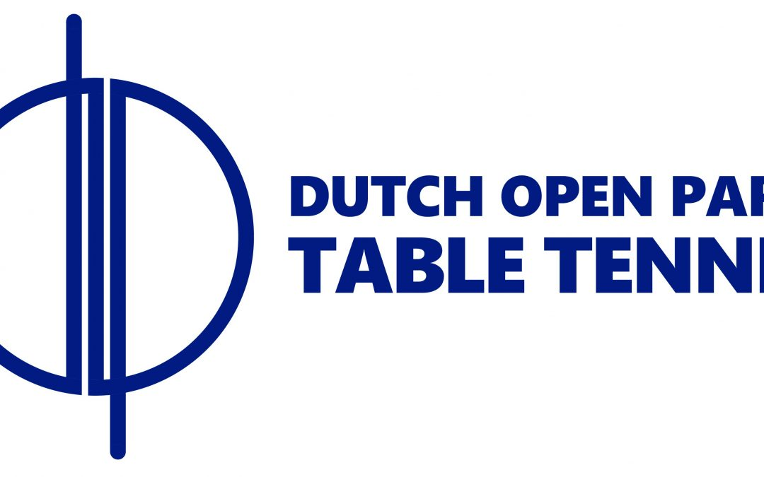 LIVE: Dutch Open Para Table Tennis