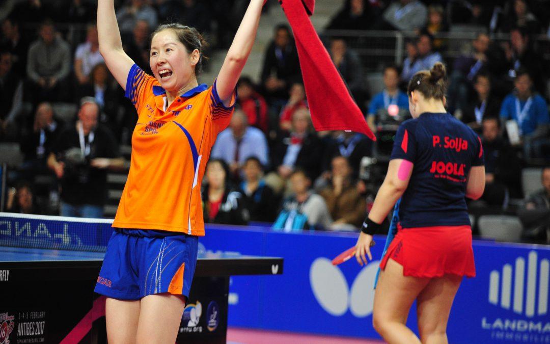 Britt Eerland en Li Jie actief op Europe top 16