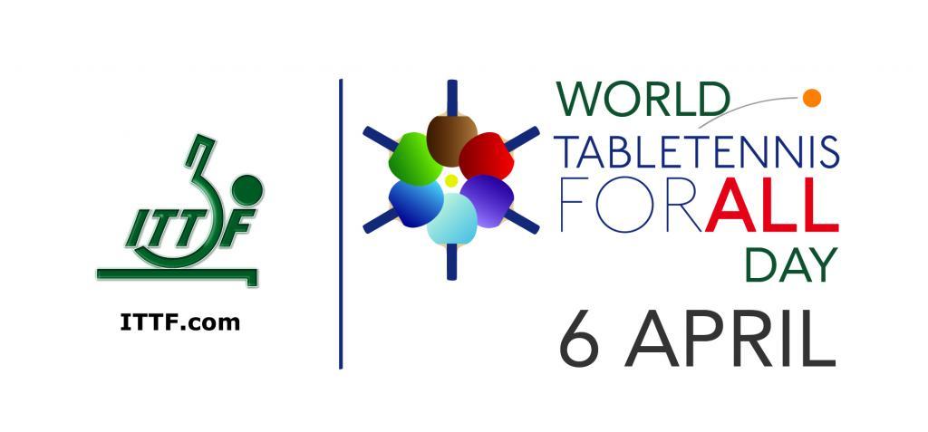Vier ook Wereld Tafeltennisdag 2019!