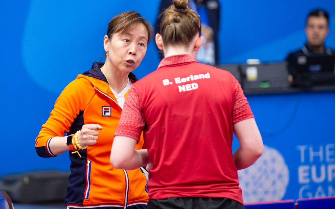 Thuisland tegenstander dames TeamNL
