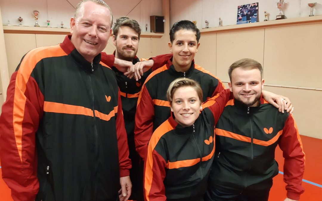 Para Team Nederland debuteert in competitie