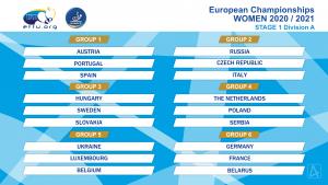 EK Tafeltennis 2020-2021, Stage 1 Dames (Uitgesteld) @ n.n.b.