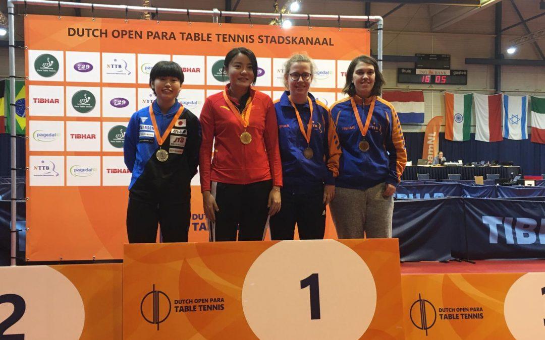 Drie keer brons voor Nederland op Dutch Open Para