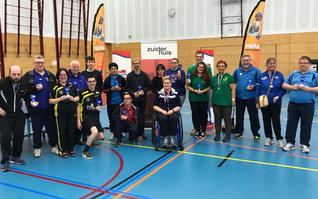Zuiderhuis Internationaal Para-ranglijsttafeltennistoernooi 2019