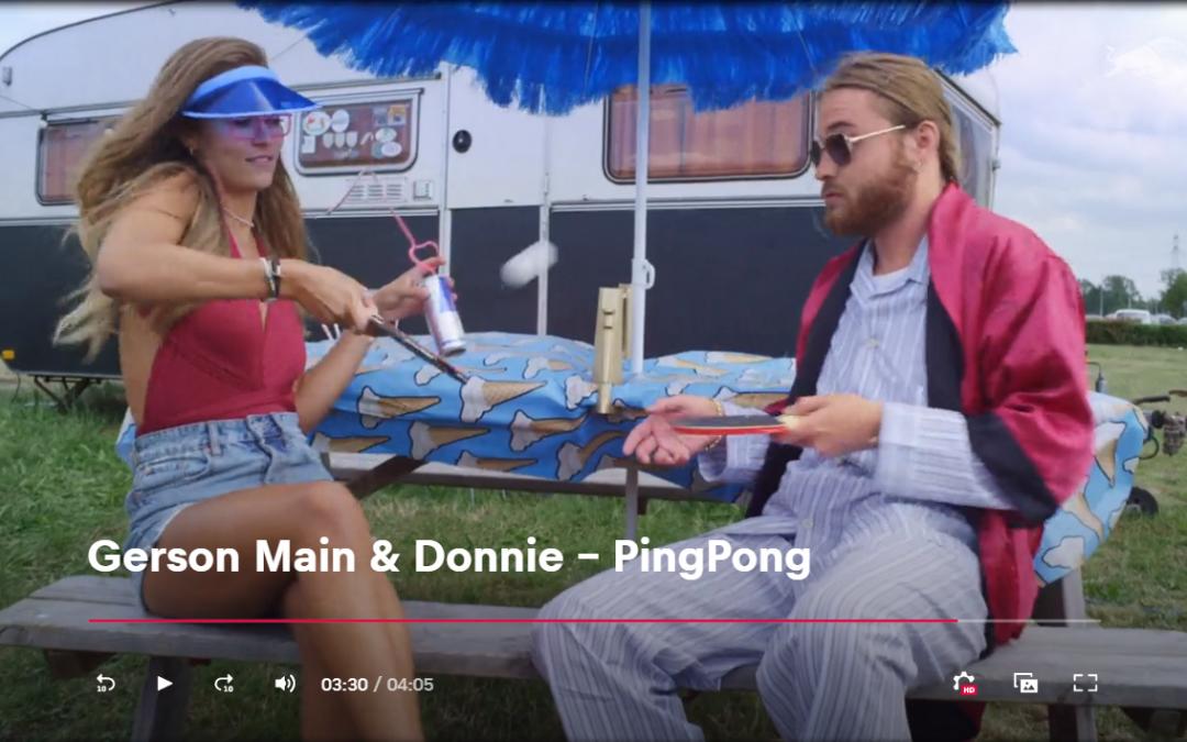 Gerson Main en Donnie lanceren zomerse track PingPong