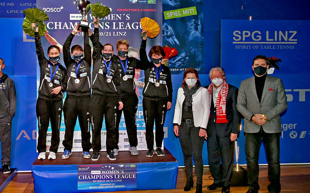 Britt Eerland wint Champions League met TTC Berlin