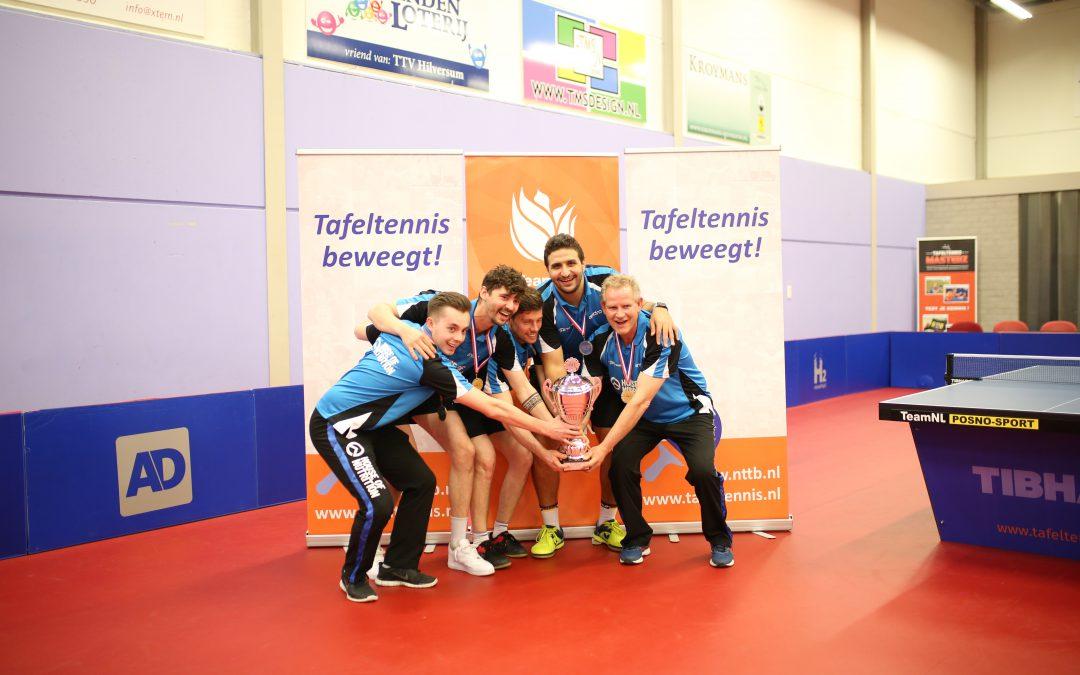 Proactief TTV Hilversum wint Heren Eredivisiefinale toernooi